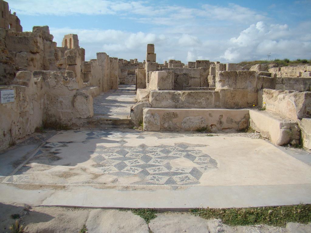 Sabratha Mosaicos Romanos Libia 03