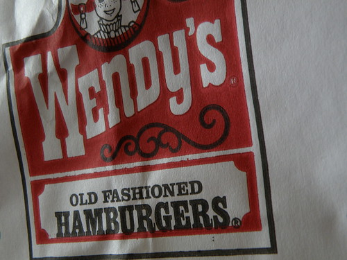Wendy's: Bag Logo