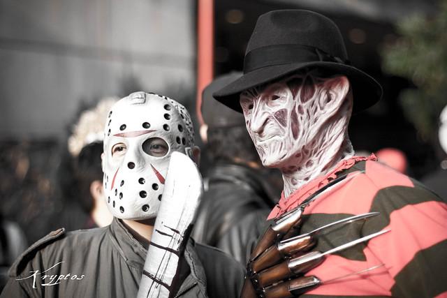 Halloween Freddie Vs Jason Flickr Photo Sharing