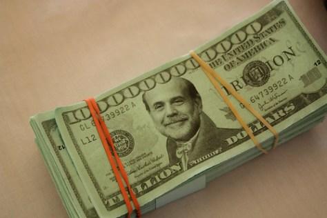 Ben Bernanke dollar