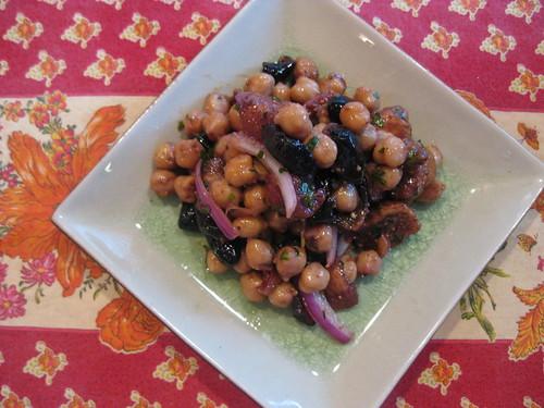 Turkish Garbanzo Bean Salad