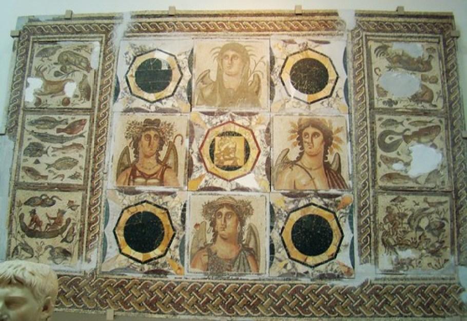 Libia Tripoli Museo Mosaicos Romanos 20