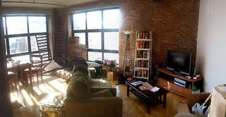 Brooklyn Apartment, Sunshine Panoramic