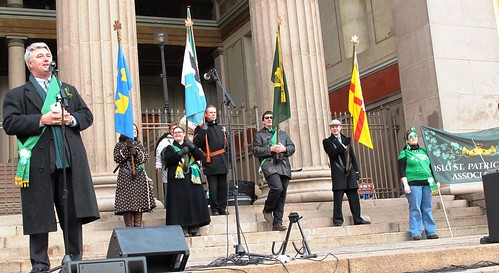 Johnny Logan in Oslo at St Patricks Day Parade | RennyBAs ...