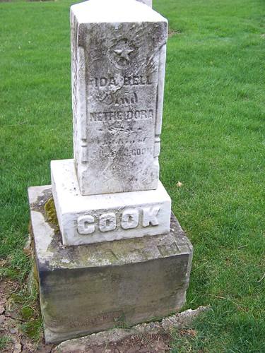 Ida Bell and Nettie Dora Cook
