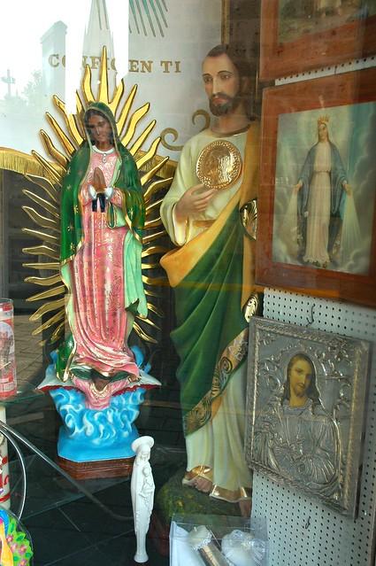 Catholic Saints Our Lady Of Guadalupe Window