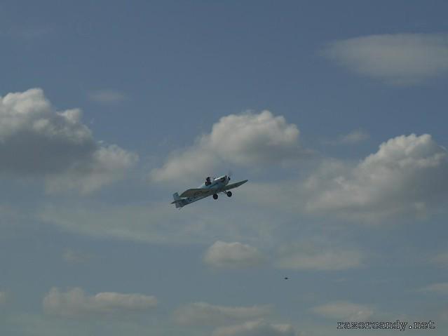 11 P1130842 Druine D.31 Turbulent {G-ARGZ} _ City Airport - 2009 (4th July)