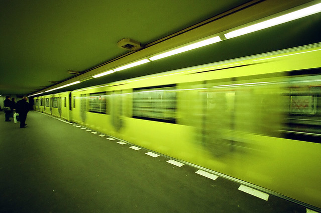 U-Bahn Bismarkstrasse, Berlin, 2009