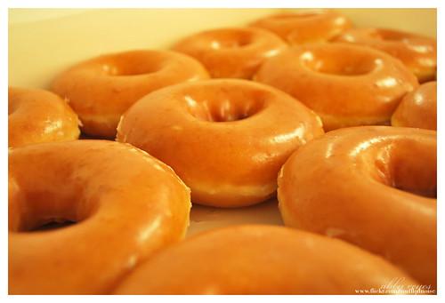 Original glazed donuts