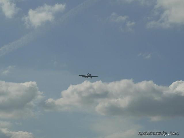 30 P1130877 Druine D.31 Turbulent {G-ARGZ} _  City Airport - 2009 (4th July)