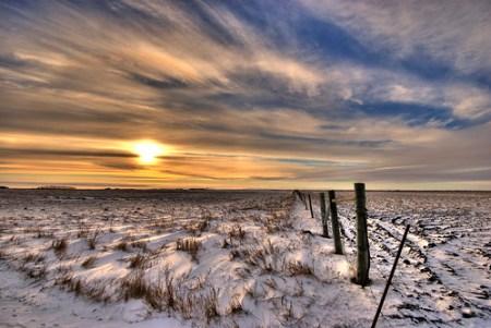 Prairie winter...