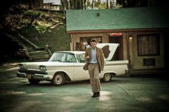 Norman Bates / Psycho by paulbarroga