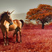 Red Unicorn / Unicornio Rojo