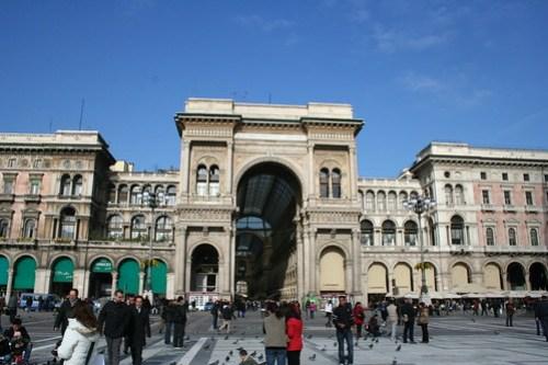 20091112 Milano 21 Piazza del Duomo 16 Galleria Vittorio Emanuele II