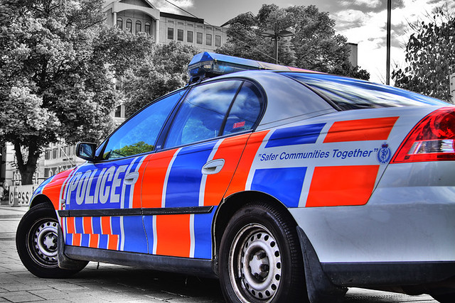Police Car HDR