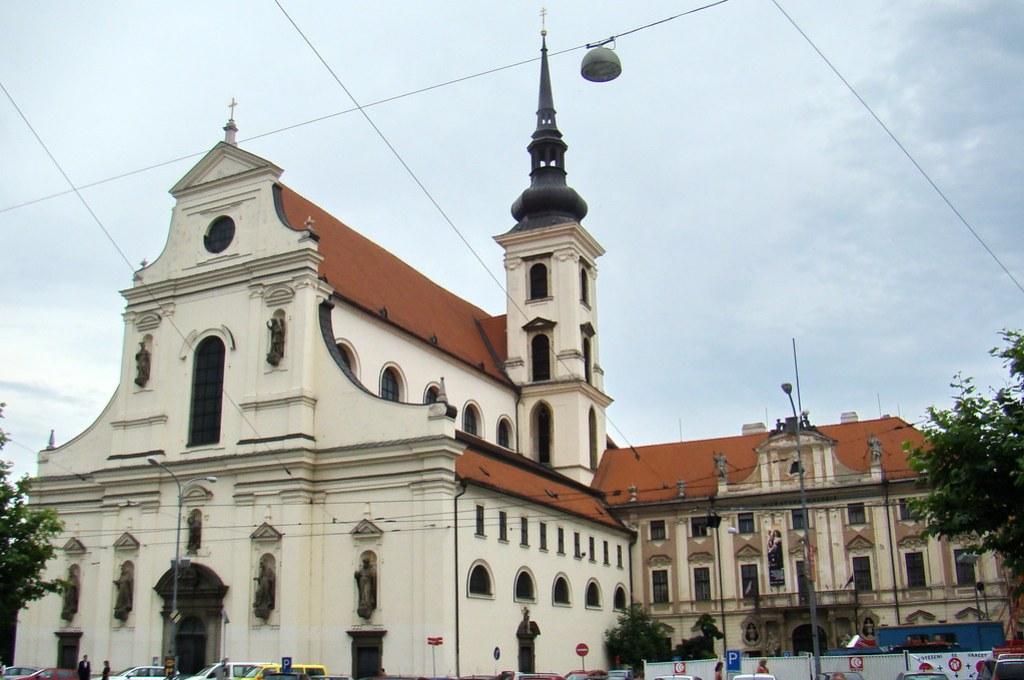 Brno Iglesia de Santo Tomás Chequia 01