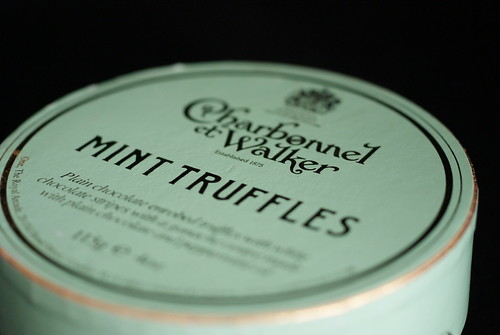Charbonnel et Walker Mint Truffles Packaging