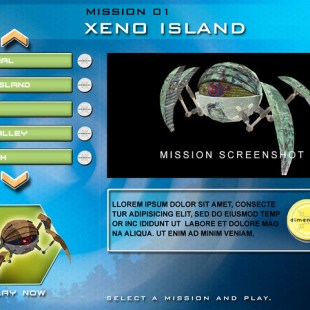 mission select menu