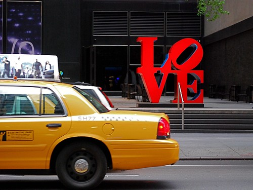 LOVE sculpture por Robert Indiana por Noel Y.C.