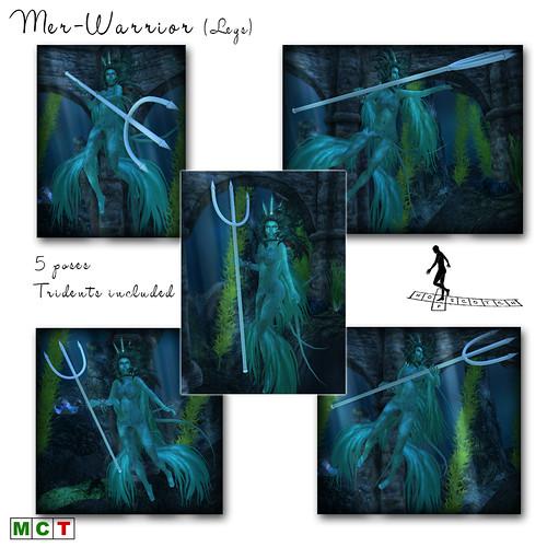Mer-Warrior Legs