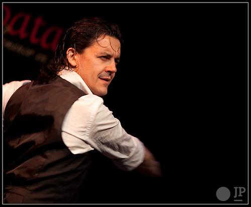 José Barrios es habitual de nuestro tablao. Foto: Juan Pelegrín para Casa Patas