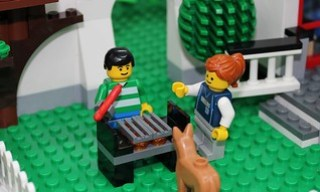 Summertime Is Grilling Time....In Lego City