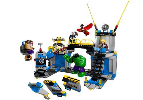 76018 Hulk Lab Smash