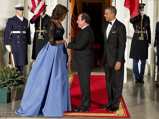 Michelle Obama chose Venezuelan-American designer Carolina Herrera