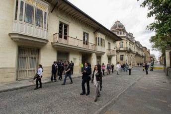 Een vriendin van Lucia werkte in het presidentieel paleis.