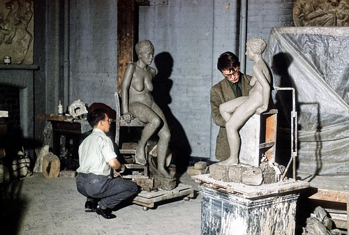 Manchester Art School Students, c. 1962