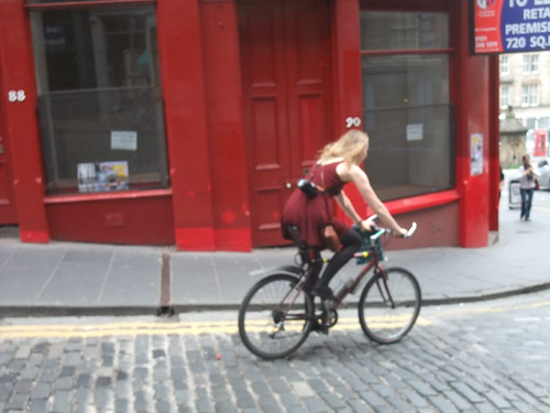 Cycle chic photographer