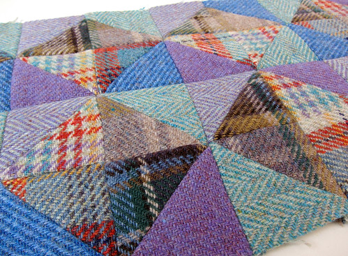 Tweed patchwork