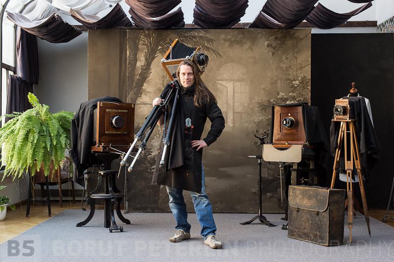 Borut Peterlin in Josip Pelikan Studio