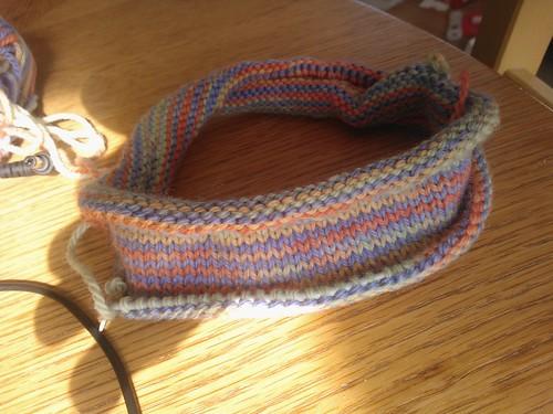 knitting round and round