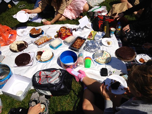 Birthday Picnic at Hyde Park, London