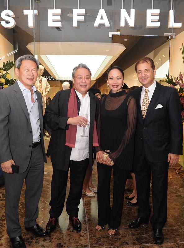 Ali Yu, Andrew Gan, Agnes Roscigno, HE Ambassador Massimo Roscigno