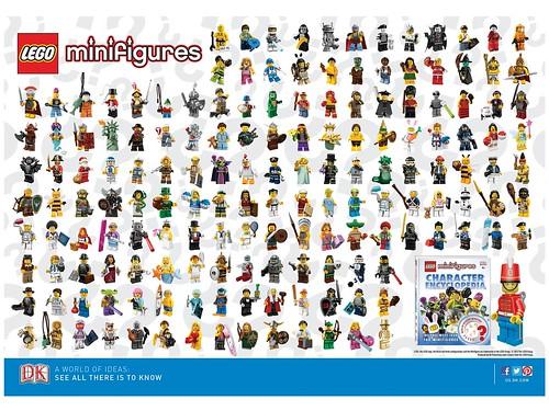 5002483 LEGO Minifigures DK Character Encyclopedia