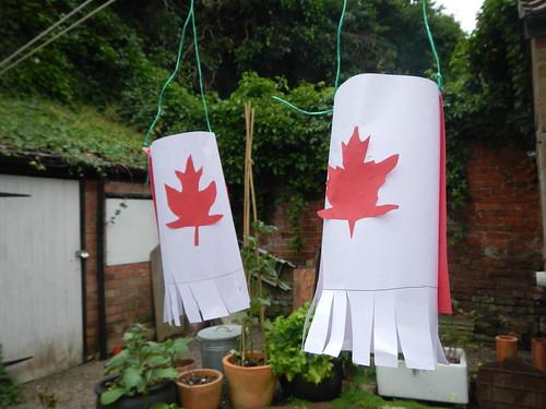 Canadian windsocks
