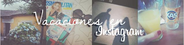 Vacaciones en instagram