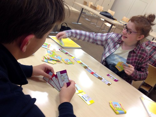 #scienceFTW @AMNH has begun! 20 sessions of after school science through card game awesomeness.