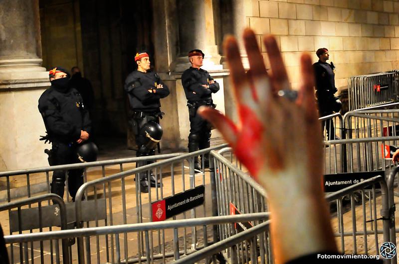 #ProuBrutalitat #ProuImpunitat. Foto: Fotomovimiento