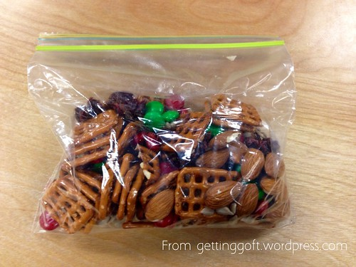 Homemade Trail Mix from gettinggoft.wordpress.com
