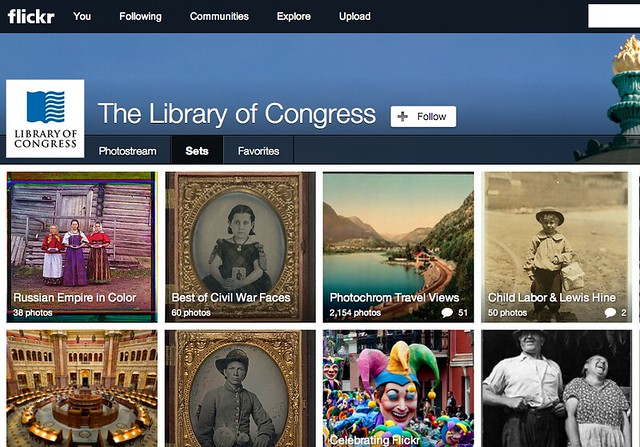 Library of congress on Flickr