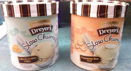 Dreyer's Limited Edition Bakery Treats Slow Churned Ice Cream