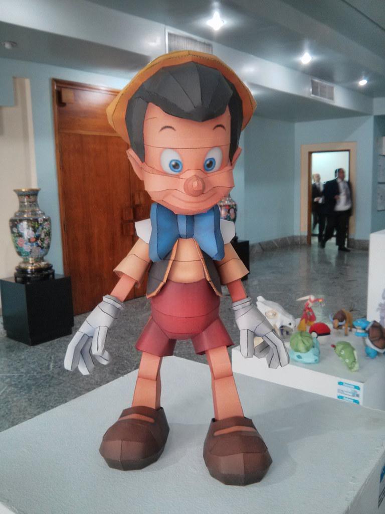 Exposición Papercraft