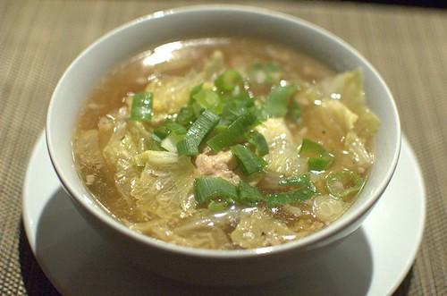 Paleo wonton soup