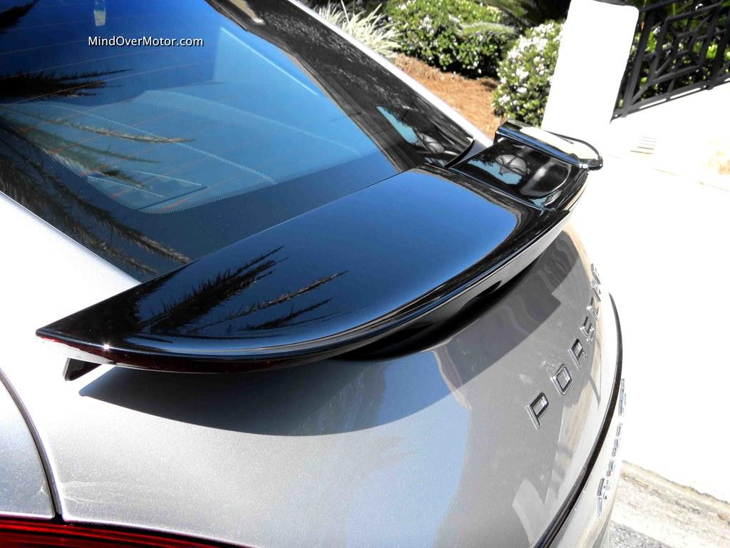 2013 Porsche Panamera GTS rear spoiler