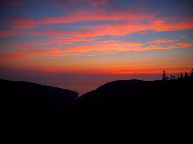 Cape Breton Plateau Sunset
