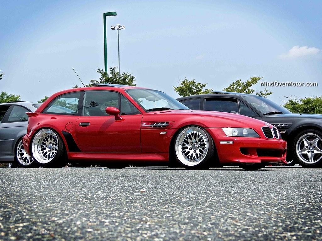 Slammed BMW Z3 M Coupe