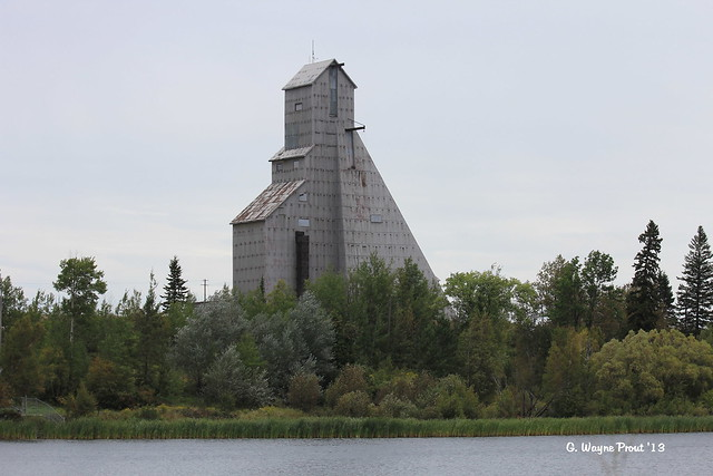 Goldcorp - McIntyre Gold Mine No. 11 Shaft Headframe